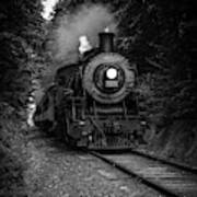 Whistle Through The Forest Art Print