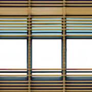 White Windows Art Print