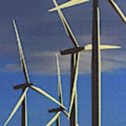 Wind Power Art  Art Print