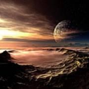 Alien Planet, Artwork Art Print