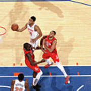 Houston Rockets V New York Knicks Art Print