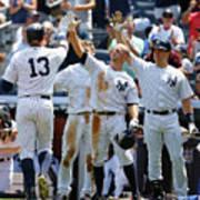 Kansas City Royals V New York Yankees Art Print