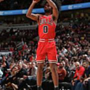 New York Knicks V Chicago Bulls Art Print