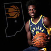 2018-19 Indiana Pacers Media Day Art Print