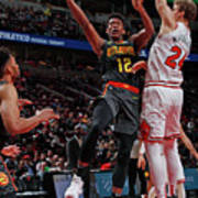 Atlanta Hawks V Chicago Bulls Art Print