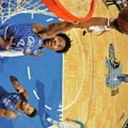 Charlotte Hornets V Orlando Magic Art Print