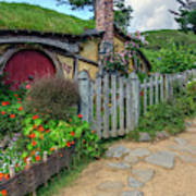 Hobbiton - New Zealand Art Print