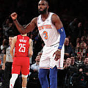 Houston Rockets V New York Knicks Art Print