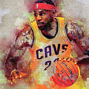 Lebron Raymone James Art Print