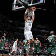 Milwaukee Bucks V Brooklyn Nets Art Print