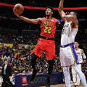 Atlanta Hawks V Los Angeles Lakers Art Print