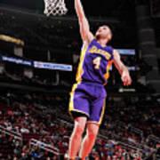 Los Angeles Lakers V Houston Rockets Art Print