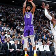 Utah Jazz V Sacramento Kings Art Print