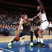 Atlanta Hawks V New York Knicks Art Print