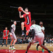 Boston Celtics V Washington Wizards Art Print