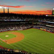 Washington Nationals V New York Mets Art Print