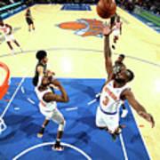 Brooklyn Nets V New York Knicks Art Print