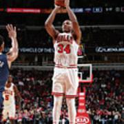 New Orleans Pelicans V Chicago Bulls Art Print