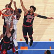 Chicago Bulls V New York Knicks Art Print