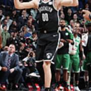 Boston Celtics V Brooklyn Nets Art Print