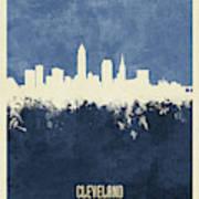 Cleveland Ohio Skyline Art Print