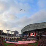 Oakland Athletics V Houston Astros Art Print