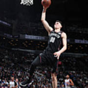 Detroit Pistons V Brooklyn Nets Art Print