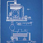 1885 Furnace Patent Art Print