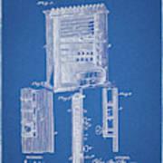 1885 Pool Rack Patent Art Print