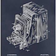 1887 Blair Photographic Camera Blackboard Patent Print Art Print