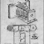 1899 Photographic Camera Patent Print Gray Art Print
