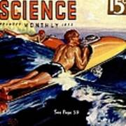 Popular Science Magazine Covers Art Print