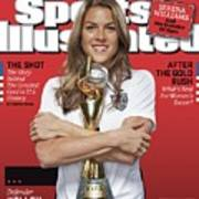 Us Womens National Team 2015 Fifa Womens World Cup Champions Sports Illustrated Cover Art Print