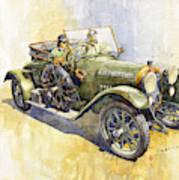 1916 Praga Mignon Art Print