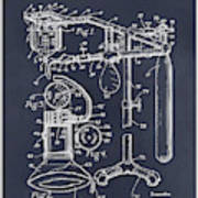 1919 Anesthetic Machine Blackboard Patent Print Art Print