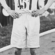 1924 Olympic 400-meter Winner Eric Art Print