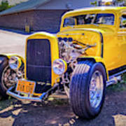 1931 Ford Model A 5 Window Coupe Art Print