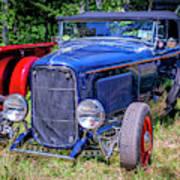 1932 Ford Highboy Hot Rod Roadster Art Print