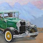 1932 Ford Model A  Art Print