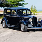 1933 Buick 50 Series Art Print