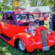 1935 Dodge Coupe Hot Rod Gasser Art Print