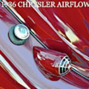 1936 Chrysler Airflow B Art Print