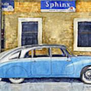 1948-1949 Tatra T87 Art Print