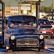 1951 Dodge Fargo Tractor Truck Art Print