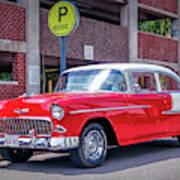1955 Chevrolet Bel Air  Art Print