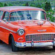1955 Chevrolet Bel Air Nomad Art Print