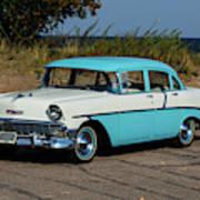 1956 Chevrolet 210  Art Print