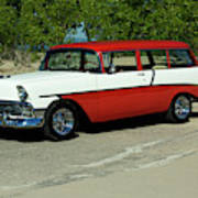 1956 Chevrolet Handyman Station Wagon  Art Print