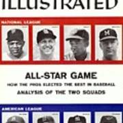 1958 All Star Game Preview Sports Illustrated Cover Art Print