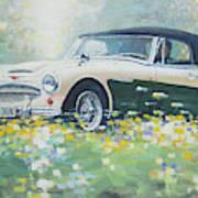 1967 Austin Healey 3000 Mk I I I B J 8 Art Print